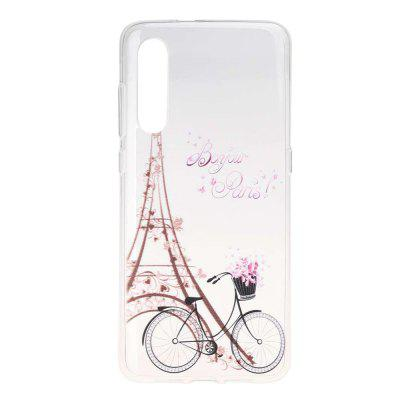 Tower Bicycle Painting TPU Phone Case for Xiaomi Mi 9