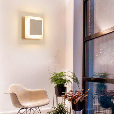 Rectangular Style LED Wall Light for Aisle