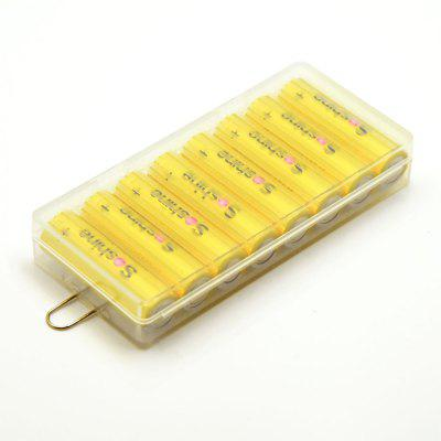 Soshine Lithium AA 1.5V Battery with Battery Box 8PCS