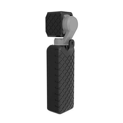 PULUZ Soft Silicone Gel Body Case Protective Lens Cap Cover for DJI OSMO Pocket