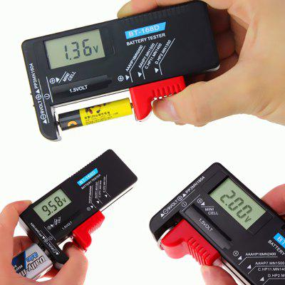 Digital Battery Tester Volt Checker for AA AAA C D 9V 1.5V Button Cell