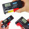 Digital Battery Tester Volt Checker for AA AAA C D 9V 1.5V Button Cell - BLACK