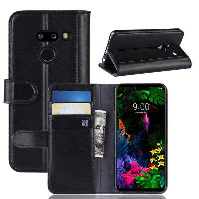 Genuine Leather Flip Case for LG G8 ThinQ