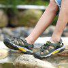 Men Thick-Soled Wear-Resistant Non-Slip Outdoor Casual Beach Shoes Sandals - ARMY GREEN