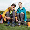 Camping Equipment Portable Gas Stove - SILVER