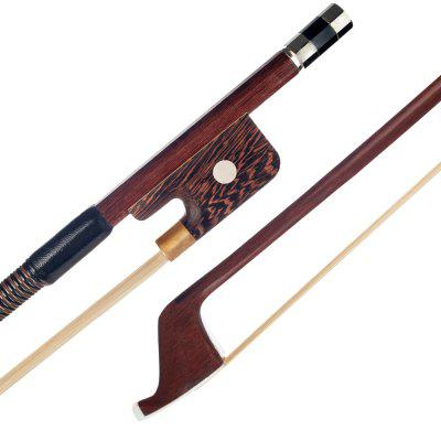 """Brazilwood Upright Double Bass Bow High Quality Brazilwood Upright Double Bass - Wood"""