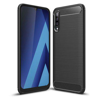 Shockproof Back Cover Carbon Fiber Case for Samsung Galaxy A50