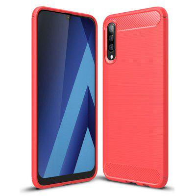Shockproof Back Cover Carbon Fiber Case for Samsung Galaxy A70
