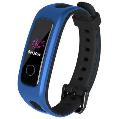 Two Color Silicone Watch Band for Huawei Glory 4 Running Version