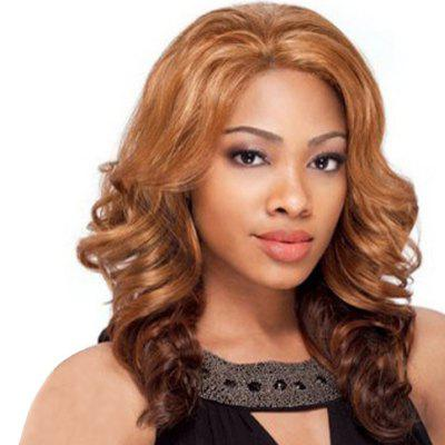 Fashionable Gradient Ramp Big Curl Wig