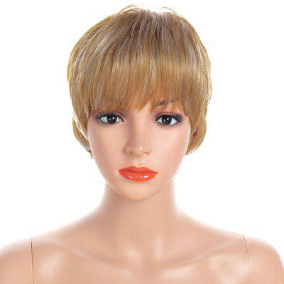 Fashionable Small Roll Short Wig