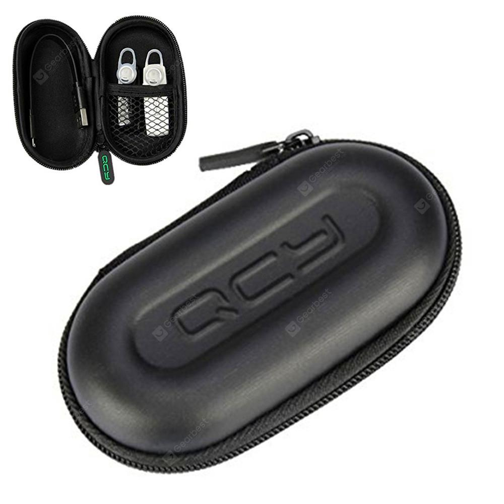 QCY Portable Storage Bag Headphone Case for Cable Charger Earphone Memory Card
