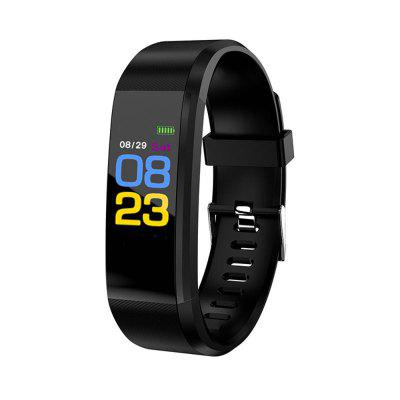 Sports Bluetooth IPX7 Waterproof Smart Bracelet with Heart Rate Monitoring Pedometer Functions