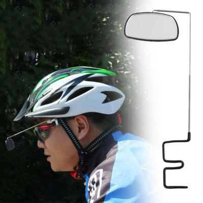 360 Degree Rotatable Bicycle Riding Glasses Rearview Mirror Helmet Mirror