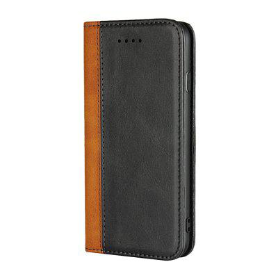 Calf  Magnetic Color Matching Protective Leather Case For iPhone 7/iPhone 8