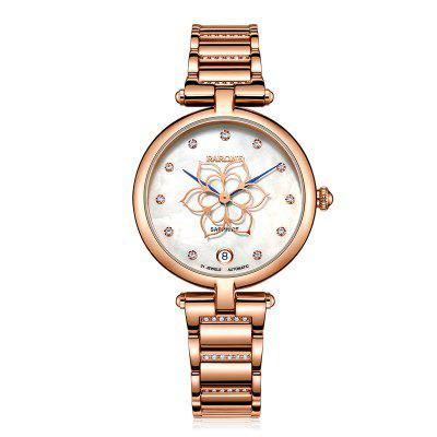 Rarone Luxury Fashion Waterproof Lady Wrist Automatic Watch