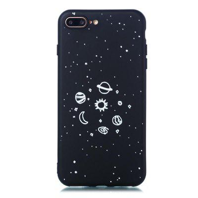 TPU Material Painted Embossed Mobile Phone Case für iPhone 8 Plus / 7 Plus