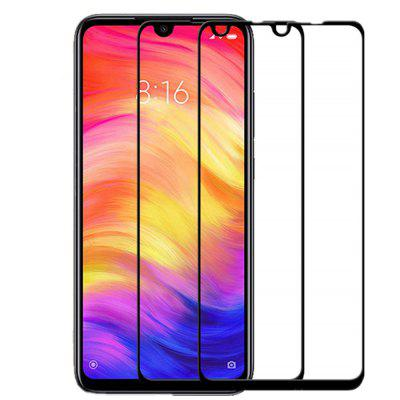 9H Tempered Glass Screen Film For Xiaomi Redmi Note 7 / Note 7 Pro 2pcs