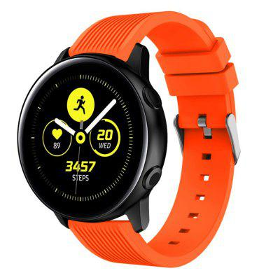 20MM Silicone Watch Strap Band For Samsung Galaxy Watch Active