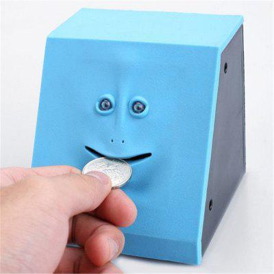 Cute Face Bank Geld Safe Box Piggy Banks Eet Sensor Coin Box