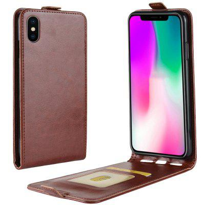 Luxury PU Leather Flip Wallet Case for iPhone XR