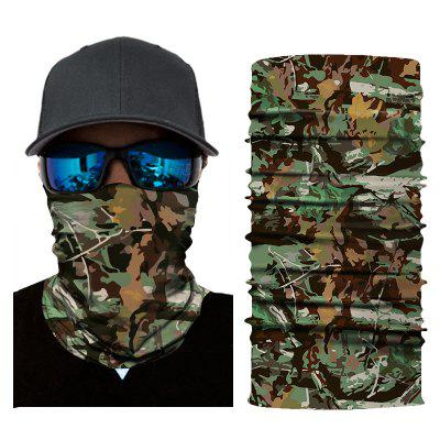 Outdoor Riding Mask Camouflage Sports Quick-Drying Seamless Headscarf
