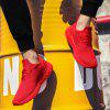 Men Mesh Breathable Trend Sports Shoes - RED