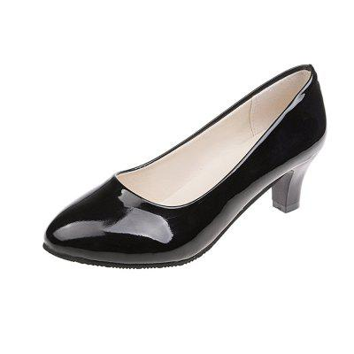 Fashion Classic High Heeled Work Shoes Women