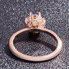 Squisito 14K Rose Gold Jewelry Gift Party Sposa e Ms. Wedding Ring - ORO ROSA