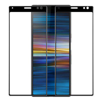 Mrnorthjoe 3D Curved Tempered Glass for Sony Xperia 10 Plus - 2PCS
