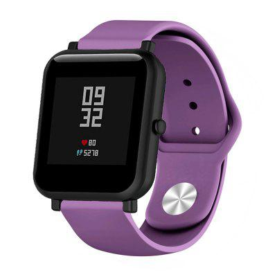 20MM Silicone Watchband Strap for AMAZFIT Bip Youth