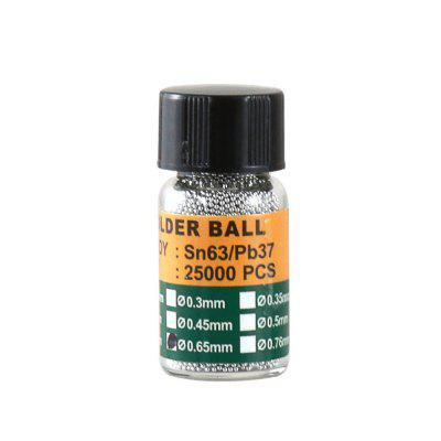 BEST Repair BGA Leaded Solder Beads Tin Ball ( 0.2 - 0.65mm ) 25000PCS