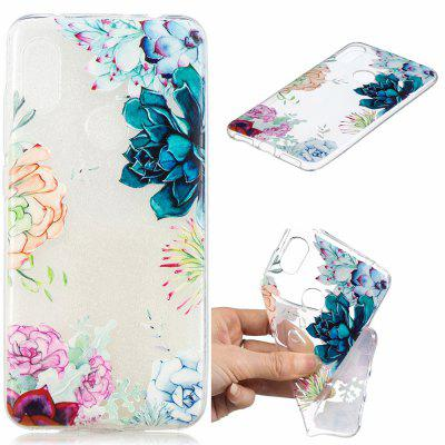 Blooming Flowers Pattern Soft TPU Case for Xiaomi Redmi Note 6/Note 6 Pro