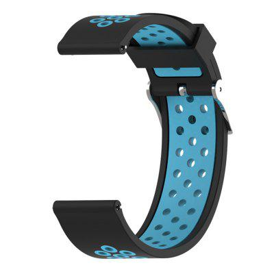 20MM Silicone Watch Band Strap for Garmin Fenix 5S / 5SPLUS