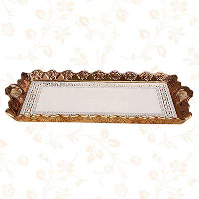 European Luxury Ceramic Tray Household Creative Fruit Plate