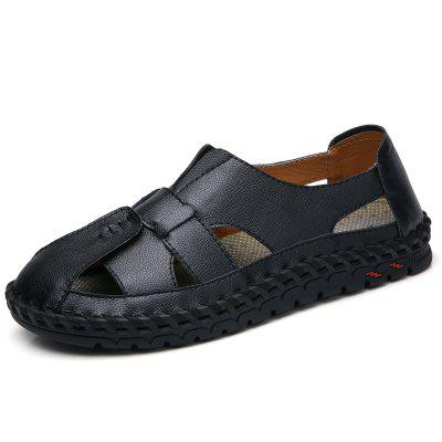 Large Size Handmade Casual Sandals for Men