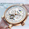 KINYUED Men Automatic Mechanical Watches Men Casual Business Watch - MULTI-B