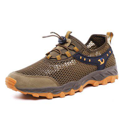 ZEACAVA Summer Hollow Breathable Casual Mesh Hiking Shoes