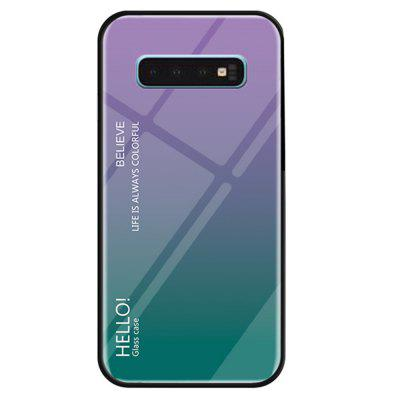Gradient Tempered Glass Cover pentru Samsung Galaxy S10
