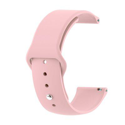 22MM Silicone Watchband Strap for Samsung Gear 2 R380 / Neo R381 / Live R382