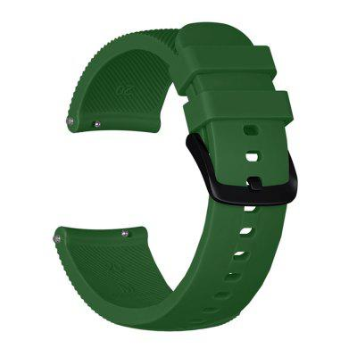 20MM Silicon Watch Band Curea pentru Samsung Galaxy Watch Active