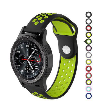 22MM Silicone Watch Band Wrist Strap For Samsung Gear S3