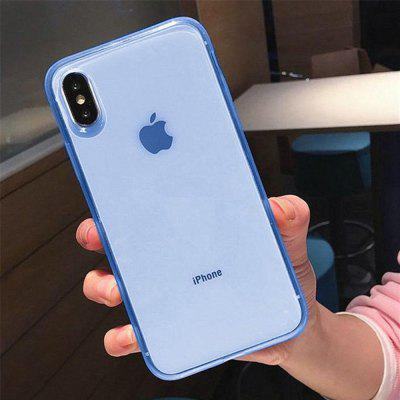 Luxury Colorful Transparent Soft TPU Case for iPhone X/XS