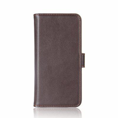 Protective Wallet Genuine Leather Flip Case for Nokia 8