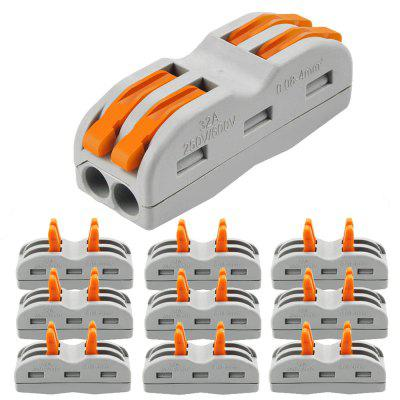 ZDM 2/3 Way Wire and Cable Electrical Connection Terminal Household Connector 10PCS