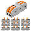 ZDM 2/3 Way Wire and Cable Electrical Connection Terminal Household Connector 10PCS - MULTI-A