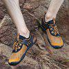 ZEACAVA Men Leisure Hiking Outdoor Sports Shoes - ORANGE GOLD