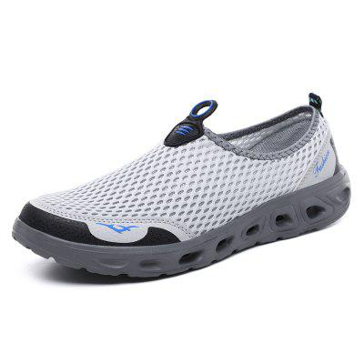 ZEACAVA Men's Large Size Outdoor Breathable Mesh Shoes