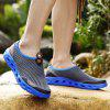 ZEACAVA Men's Large Size Outdoor Breathable Mesh Shoes - DARK GRAY