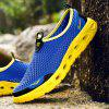 ZEACAVA Men's Large Size Outdoor Breathable Mesh Shoes - BLUE
